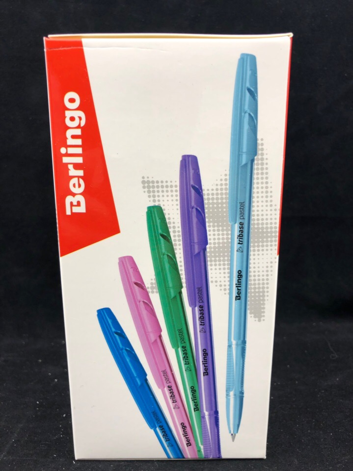 Шариковая ручка Berlingo 0.7 mm Tribase pastel 4260107491736