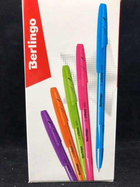 Шариковая ручка Berlingo 0.7mm Tribase neon 4260107491729