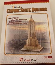Деревянные 3D пазлы -конструкторы,  (картон) АМ-127