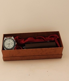 Набор подарочный (часы + ключница) 011#