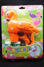 """Мыльные пузыри """"Пистолет фламинго + 2 пузырька"""""""