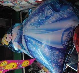 """фольгированые шарики фигурныеAM-802 """" Принцесса """""""
