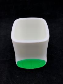 Подставка для  ручек пластиковая (белая)