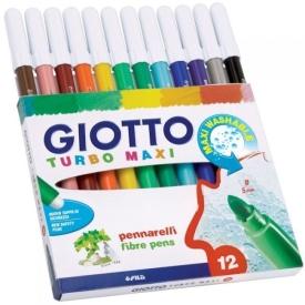 Фломастеры  GIOTTO 12 цв 0762 (*1*12)