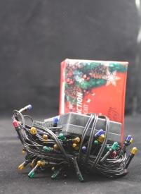 Гирлянда  электрическая  АМ-103-25 (4 м)  цветн.огоньки