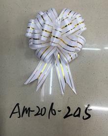 Бант подарочный АМ-2016-245 (30 мм*120 см) 30 шт