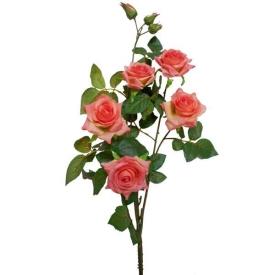 Цветы иск.РОЗЫ- 5цветк.110см АМ-206-3