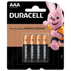 """Батарейки  """"Duracell""""  щелочные LR-3 1.5V (4*4)"""