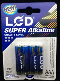 "Батарейки LED АМ-130-9/1r3""за 4 шт."""