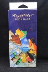 """Акрил в наборе """" ROYAL-ART""""12цв *12мл арт.RA1212 (1/6/60 наб )"""