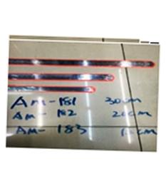 Линейка металлическая 20 см. АМ-182  ( 1/20 )