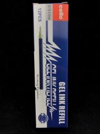 Гелевые стержни  CELLO (синий) АМ-17-19/ 601В (1 уп*12 шт)