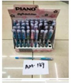 Ручка шариковая  на масляной основе Piano АМ-139 РТ-111