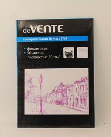"""Копировальная бумага А-4  50 лист. """"deVente"""""""