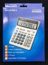 "Калькулятор ""CITIZEN"" SDC-8780LII"