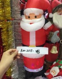 Надувной  Дед- Мороз   АМ-2018-548