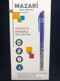 Ручка гелев, ПИШИ-СТИРАЙ ,синяя 0,5 иг, нак, арт М-5310-70 ( 12/144/864 ) MAGESTIC