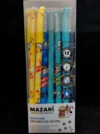 Ручка гелев, ПИШИ-СТИРАЙ ,синяя 0,5 иг, нак, арт М-5312-70 (12/864  ) GAFFLAND