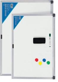 Доска магнитно-маркерная + губка и магниты 45*60 см AL-2304