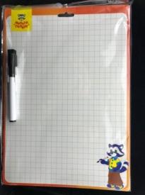 Доска  для рисования с маркером двухсторонняя Мульти-пульти