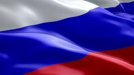 Флаг России 90*145 , шелк