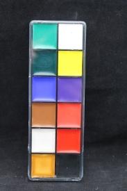 Грим для лица в прозрачной коробочке 12 цв. PR-286/АМ-36-8