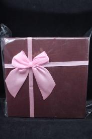 """Коробка подарочная """"Квадратная с бантиком"""" в наборе 3 шт.92301-96"""