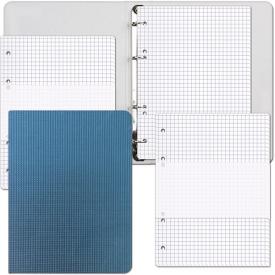 """2322  Тетрадь """"Blue Quattro"""" со см. блоком 80л. + 2 запас. блока, А5, в индивидуальной упаковке"""