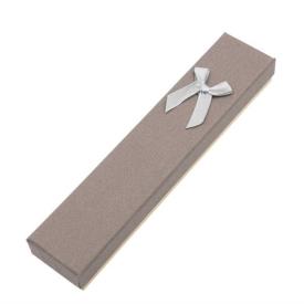 """Коробка подарочная """"Бантиком и надписью"""" узкая 4.5*2.5*20 (C61101-20Q,C61101-23T) 1/12"""