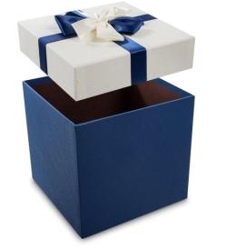 """Коробка подарочная """"Бантик с надписью"""" 11*11*12 (C62115-8T,C62115-11Q) 1/4"""