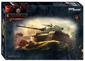 "Пазлы  ""Step- puzzle"" 54 дет. ""World of tanks"""