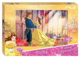 "Пазлы  ""Step- puzzle"" 160 дет.""Красавица и Чудовище - 2 ""DISNEY"""