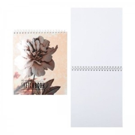 099471 Скетчбук 40 А5 Гребень S Цветок (40, 5 )